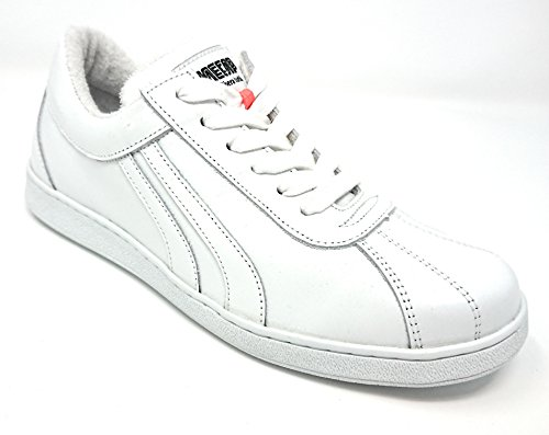 Mecap Sneaker Lauda81 Pelle bianco