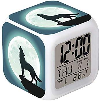 Home Décor Cointone Led Alarm Clock Unicorn Cute Design