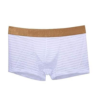 Stoota 1PC Mens Elastic Underwear, Men Boxer Briefs Shorts Pouch Soft Underpants