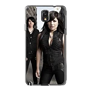 Great Hard Phone Cover For Samsung Galaxy Note3 (wEz17119qpqR) Custom Colorful Bon Jovi Skin