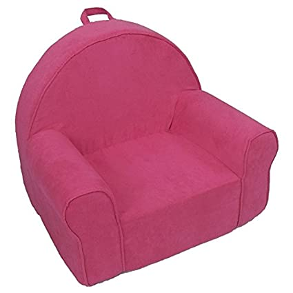 Delicieux Fun Furnishings 60204 My First Kids Club Chair In Micro Suede Fabric, Hot  Pink