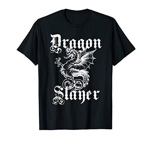 Mens Renaissance Faire Dragon Slayer Shirt XL