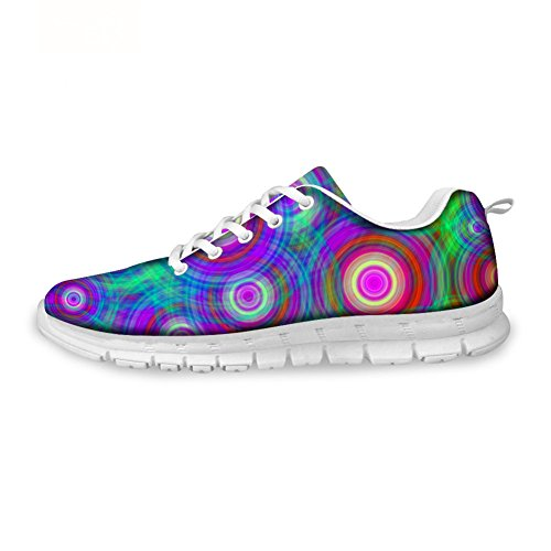 Sneakers Painting HUGS Womens IDEA Shoes Pattern 9 Casual Running Design Lightweight Fashion HYqqF5gWw