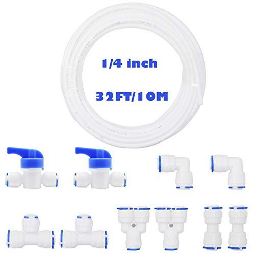 YZM 1//4 inch OD RO Water Tubing 30Meters Blue
