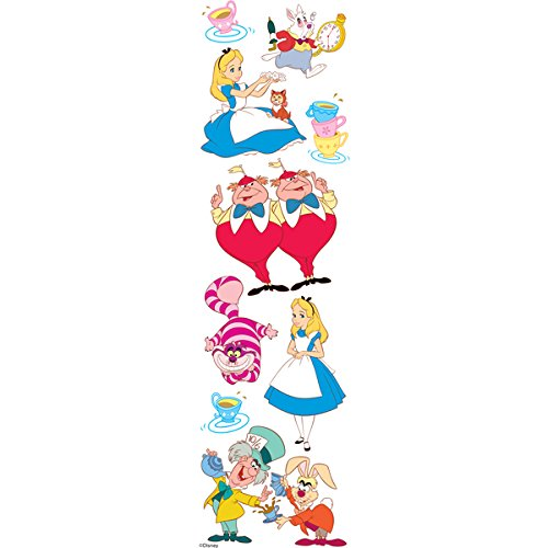 Disney Alice in Wonderland Slims Dimensional Stickers]()