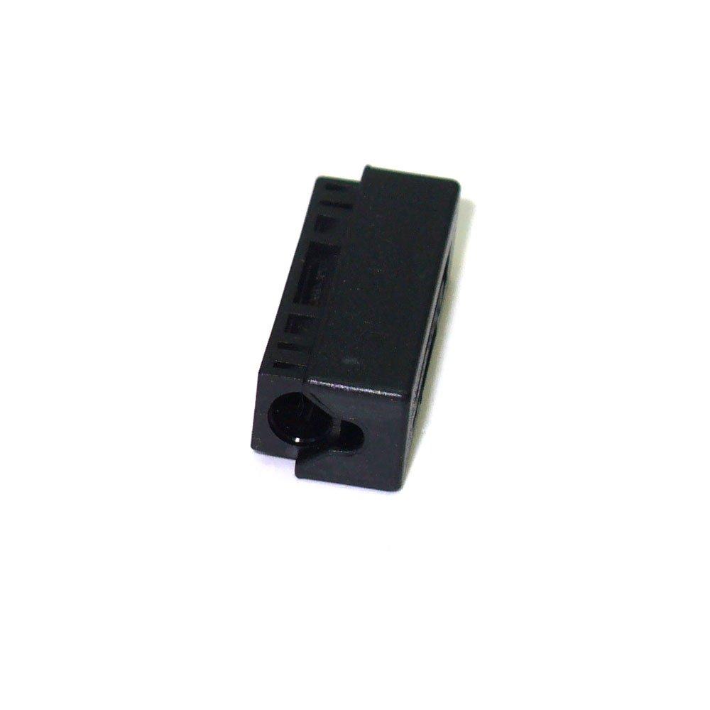 Kufatec 33419 Most LWL Lichtwellenleiter Most-Stossverbinder einzelner Adapter zum Verbinden von LWL