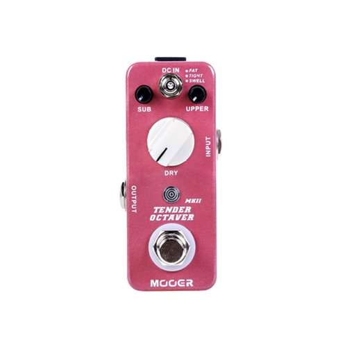 Mooer Audio Micro Series Tender Octaver MK II Guitar Effects Pedal