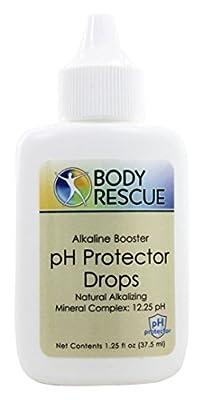 1 Pc Crucial Popular Body pH Protector Drops Sensitive Indicator Acid and Alkaline Balance Alkalizing Complex Volume 1.25 oz