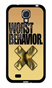I'm On My Worst Behavior 2-Piece Dual Layer Phone Case Back Cover Samsung Galaxy S4 I9500