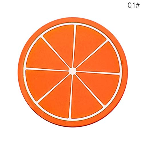 E83 Mat - RXIN Fruit Coaster, 6PCS 3.5