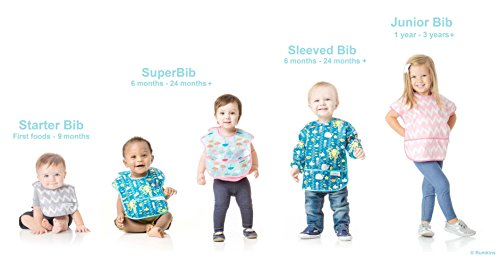 Bumkins Waterproof Junior Bib, Dinos (1-3 Years) by Bumkins (Image #4)