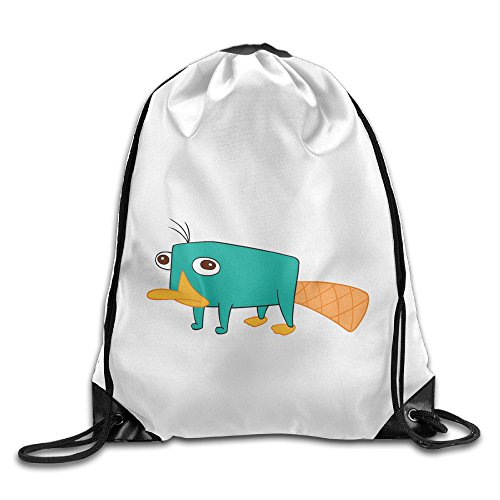 Female South Park Costumes (Bekey Phineas And Ferb Mouse Training Gymsack For Men & Women For Home Travel Storage Use Gym Traveling Shopping Sport Yoga Running)