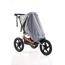 BOB Sun Shield SUS, Ironman - SingleSun Shield for Single Sport Utility Stroller/Ironman Models, Gray