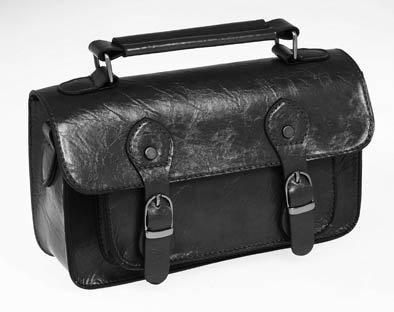 Small Black Satchel Handbag: Amazon.co.uk: Shoes & Bags