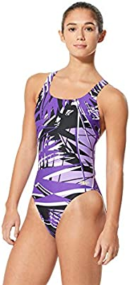 Speedo Womens Swimsuit One Piece ProLT Super Pro Printed Adult Team Colors
