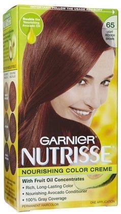 Garnier Nutrisse Couleur des cheveux: Summer Berry - Light brun rougeâtre