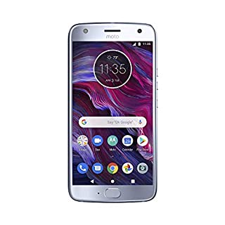 "Motorola Moto X4 Factory Unlocked Phone - 64GB - 5.2"" - Sterling Blue (U.S Warranty)"