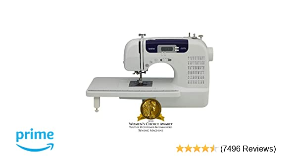 Amazon Brother Sewing And Quilting Machine CS40i 40 Built Mesmerizing Babylock Sewing Machine Reviews