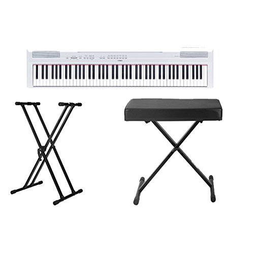 Yamaha P115WH Digital Adjustable Double