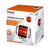 Beurer IL50 Infrared Heat Lamp, Red Light Heat