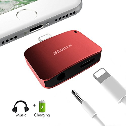 Lightning Adapter Steanum Headphone Compatible