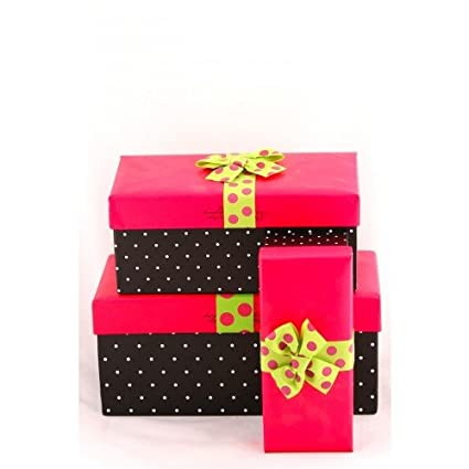 Buy Hot Pink Gift Boxes Online At Low Prices In India Amazon In
