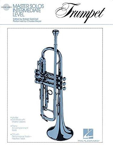 Download Master Solos Intermediate Level - Trumpet: Book/CD