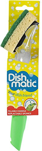 The Dishmatic Washing Up Brush plus Heavy Duty Sponge