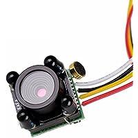 USAQ 3g Micro Night Vision FPV Camera 600TVL 720P 0.5LUX 3.7mm Lens IR with Audio