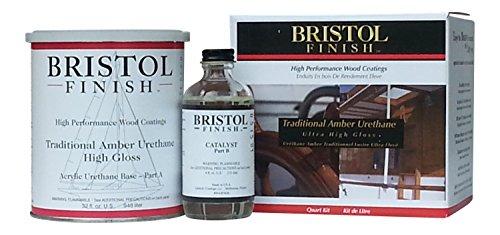 Bristol Finish Traditional Amber Urethane Kit - 32oz. by Bristol Finish