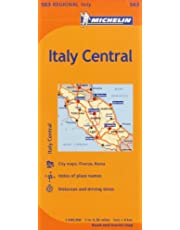 Michelin Italy: Central / Italie: Centre Map 563