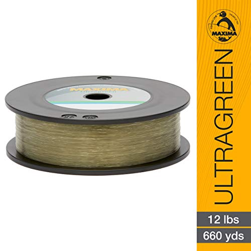 Maxima Fishing Line Maxi Spools, Ultragreen, ()
