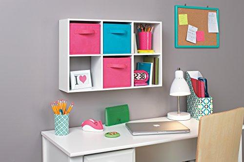ClosetMaid 1578 Cubeicals Mini 6-Cube Organizer, White