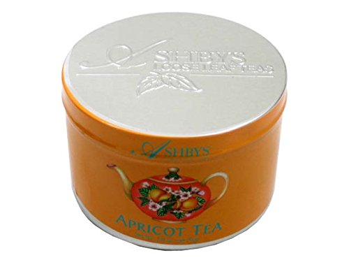 Ashbys Apricot Loose Leaf Tea 2 Ounce Tin by Ashbys of London