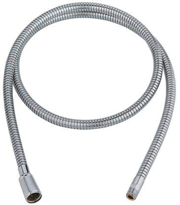 Grohe 46298SD0 Ladylux Stainless Steel Pull-Out Spray, PLUS Grohe 46092000 Pull-Out Spray Replacement Hose by GROHE (Image #2)