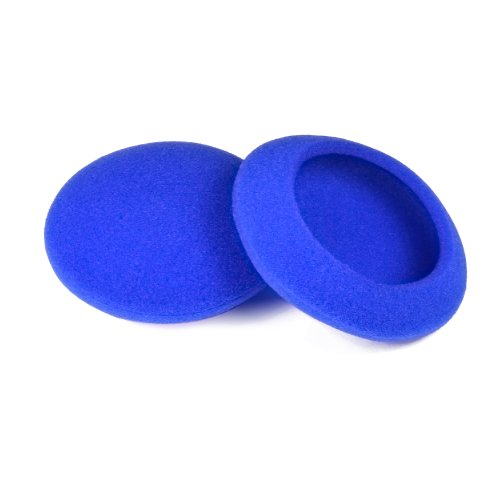 5 Pairs 50mm?2 inch?Quality Replacement Ear Pad Foam Earbud sponge Cover cushions for Sennheiser PX100 / Sony MDR-G57 / Philips / Plantronics Headphones (BLUE), Best Gadgets