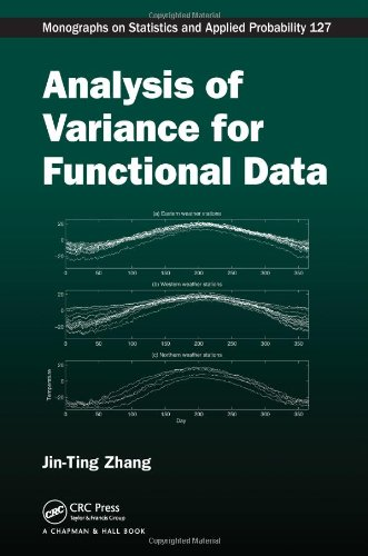 Analysis of Variance for Functional Data (Chapman & Hall/CRC Monographs on Statistics & Applied Probability)