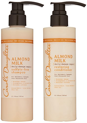 Carols Daughter Almond Milk Hair Care Gift Set for Extremely Damaged/Over-Processed Hair by Carol's Daughter