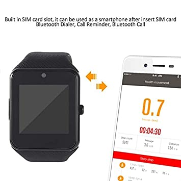 gt08 Waterproof Bluetooth 2 G Smart Watch with 1.54 Inch TFT LCD ...