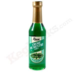 Reese Syrup, Cream De Menthe, 8-Ounce (Pack of 2)