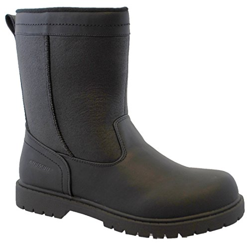 Khombu Mens Chicago Insulated Winter Boot, Black, 10 M (Insulated For Boots compare prices)