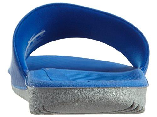 Nike Heren Kawa Slide Atletische Sandaal Hyper Kobalt / Wit / Wolf Grijs