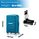 Tinfancy Luggage Carts with Wheels Lightweight
