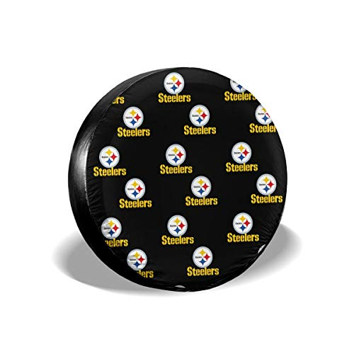 Gdcover Custom Team Design Pittsburgh Steelers Waterproof Spare Tire Cover ()