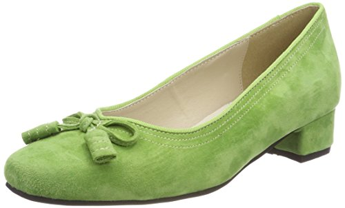 Tacco Grasgr Verde col Chiusa Punta Hirschkogel Donna 3001514 Scarpe wv8q4tt