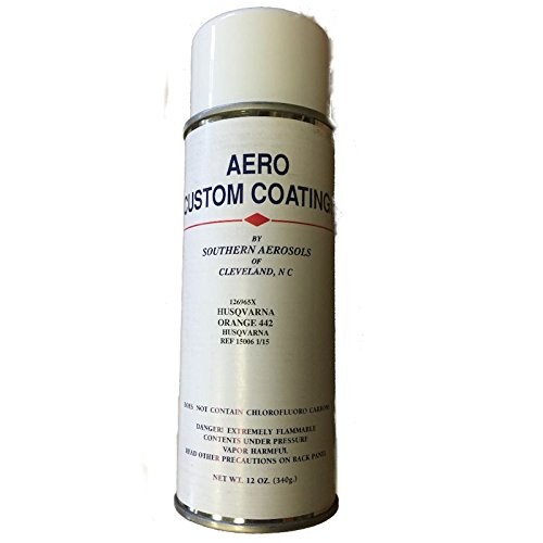 Husqvarna Orange 442 Touch-Up Spray Paint 532126965 12oz Can
