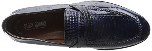 Stacy Adams Mens Corsica Instappers Loafer Donkerblauw