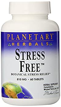 Planetary Herbals Stress Free Calm Formula Tablets, 810mg, 60 Count