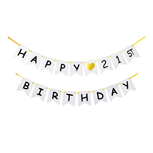21st Birthday Heart - 1
