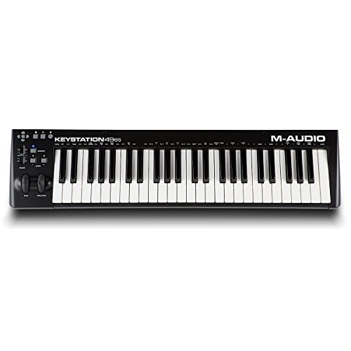 M-Audio Keystation 49ES Black with Ableton Lite (49 Key Midi Controller compare prices)